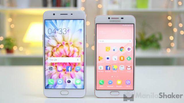 Samsung Galaxy C5 vs Oppo F1s Review Camera Comparison Philippines Specs Price Release PH