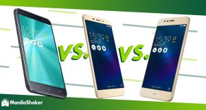 Asus Zenfone 3 ZE552KL vs Max ZC553KL vs Laser ZC550KL Specs Price Philippines Review Release PH