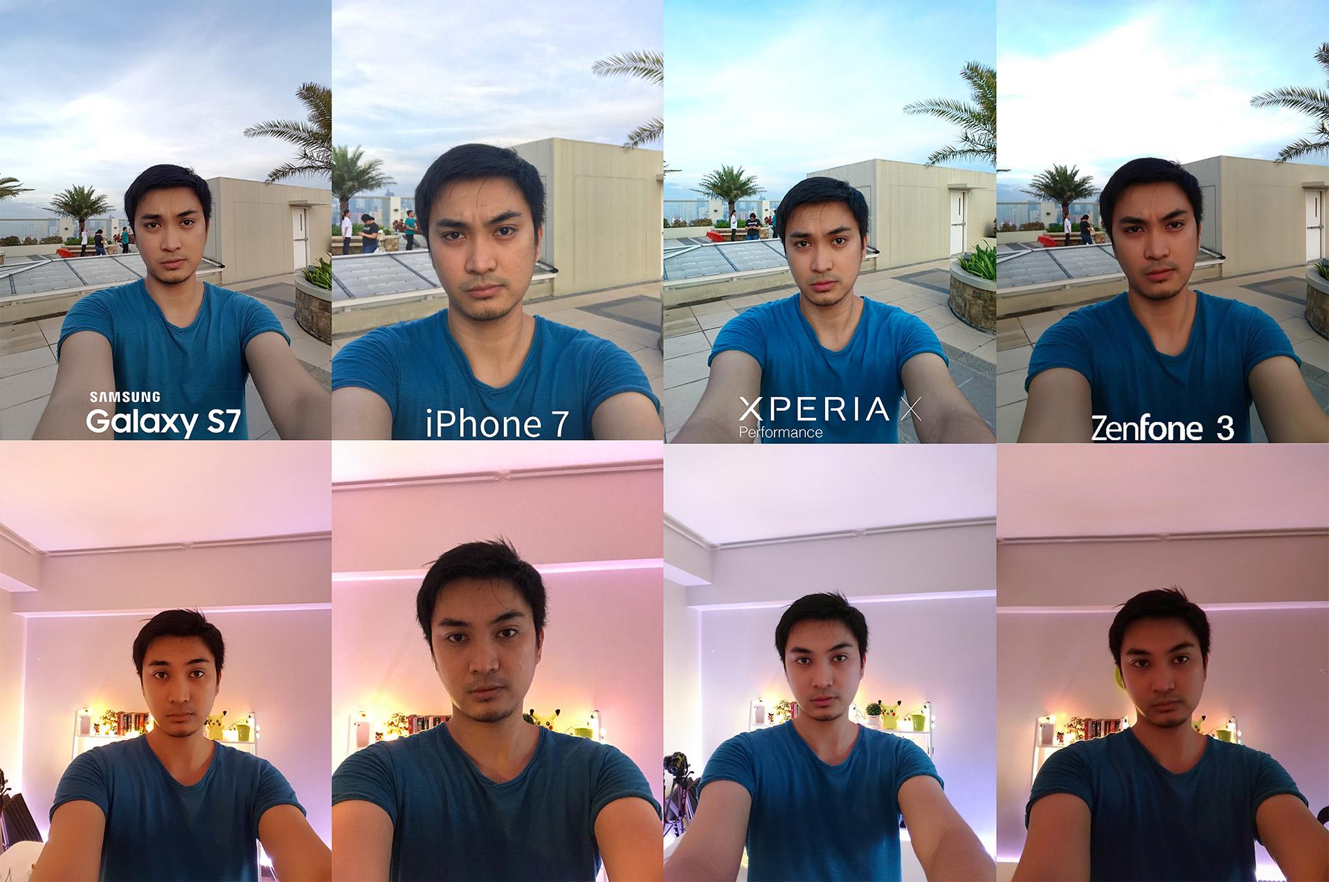 IPhone 7 Vs Galaxy S7 Zenfone 3 Xperia X Performance