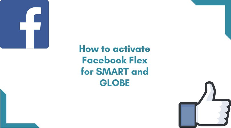 How to Activate Facebook Flex/Free Facebook for Smart and