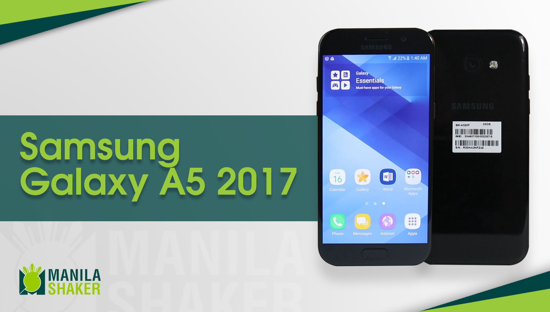 Samsung Galaxy A5 2017 Full Review