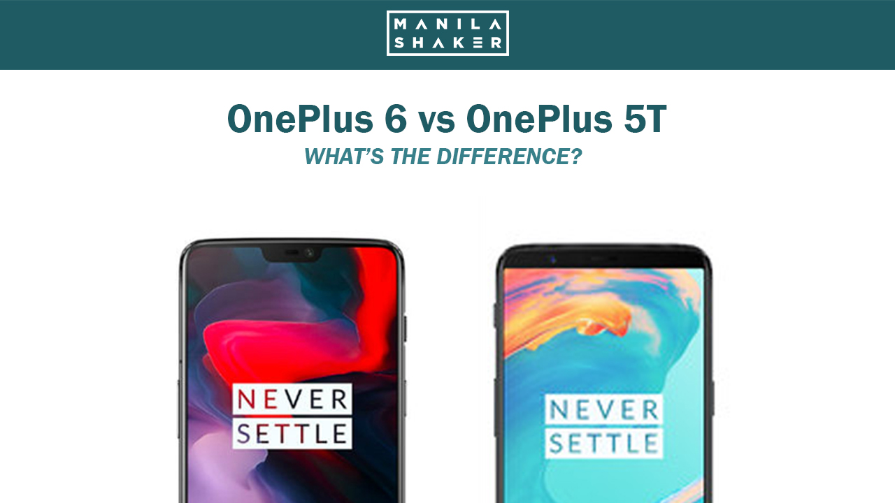 OnePlus 6 vs OnePlus 5T: What's the difference?