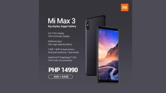 Image result for xiaomi mi max 3 manila shaker