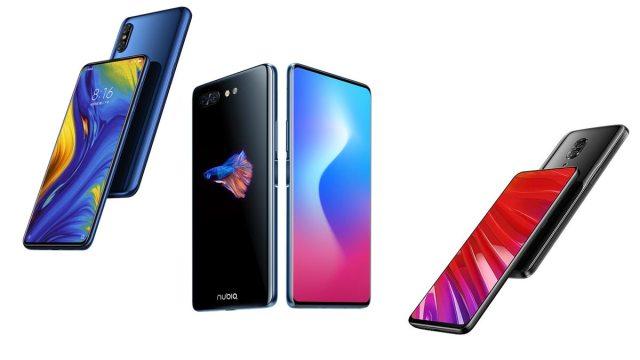 Xiaomi Mi Mix 3 vs Honor Magic 2 ZTE Nubia X vs Lenovo Z5 Pro Comparison Review