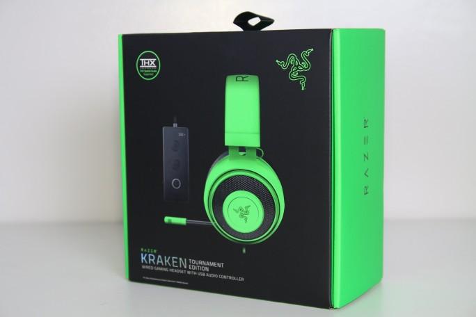 Razer Kraken Tournament Edition Wired Headset with USB Audio