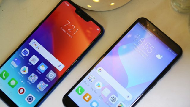 Realme C1 vs Huawei Y6 2018 comparison review camera ph2