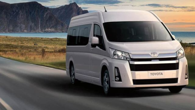 toyota hiace 2019 van launched with faster engine  new design for p1 5m price