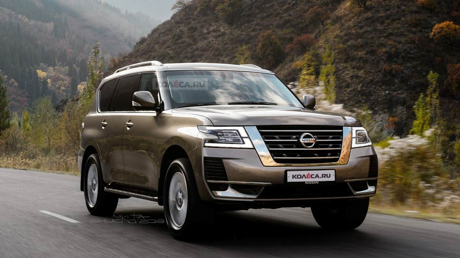 2020 Nissan Patrol With New Design Up To V8 Engine