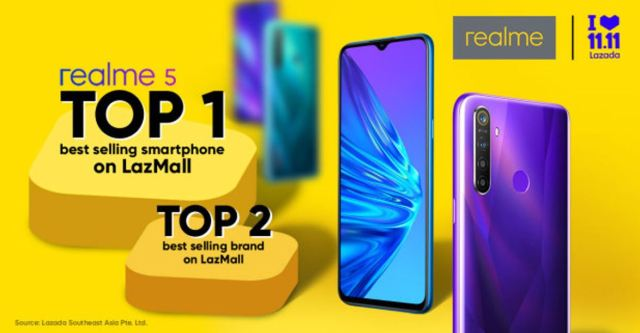 realme-5-best-selling-smartphone-realme-2nd-best-selling-brand-during-11-11-online-sale