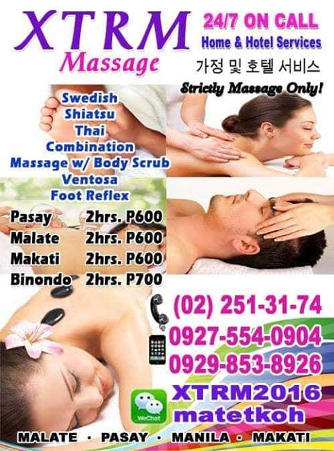 xtrm massage spa home hotel service pasay metro manila philippines image2