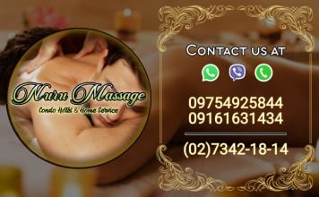 nuru massage condo home hotel service philippines