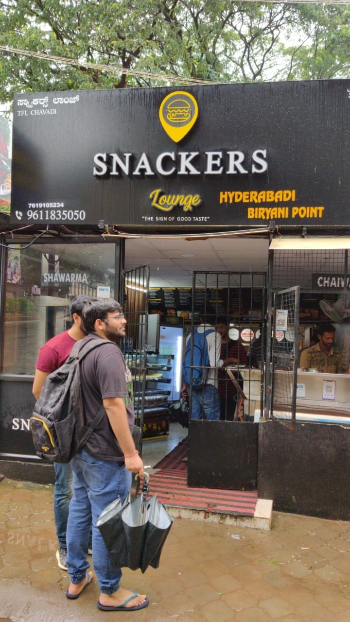 Snackers lounge Manipal MIT