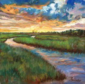 sunset marsh small