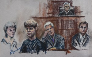 Dylann Roof sketches