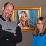 portrait painter of children
