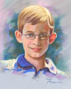 portrait painter of pastels