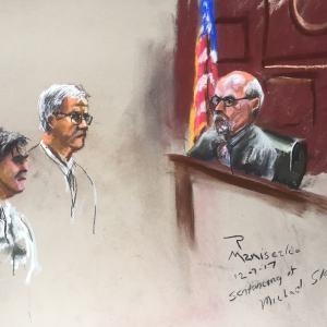 Michael Slager Sentencing Hearing - Slager Receives Judgement from Judge David Norton