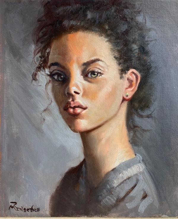 Portrait of a Model