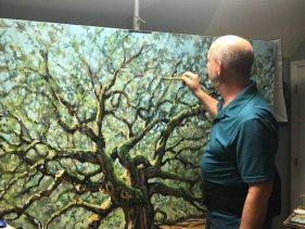 rob painting angel oak