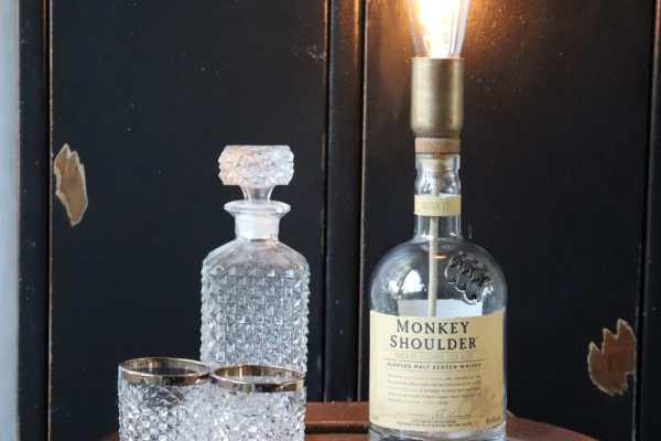 Gedistillicht op een whiskyvat