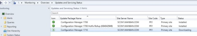 SCCM (System Center Configuration Manager) 1710 Step by Step Upgrade Guide 6