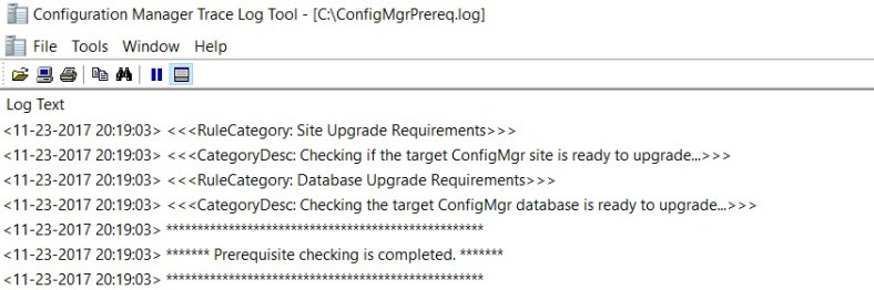 SCCM (System Center Configuration Manager) 1710 Step by Step Upgrade Guide 11