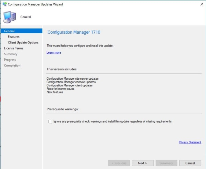SCCM (System Center Configuration Manager) 1710 Step by Step Upgrade Guide 12