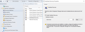 Understanding / Setting up Heartbeat Discovery & Client Activity