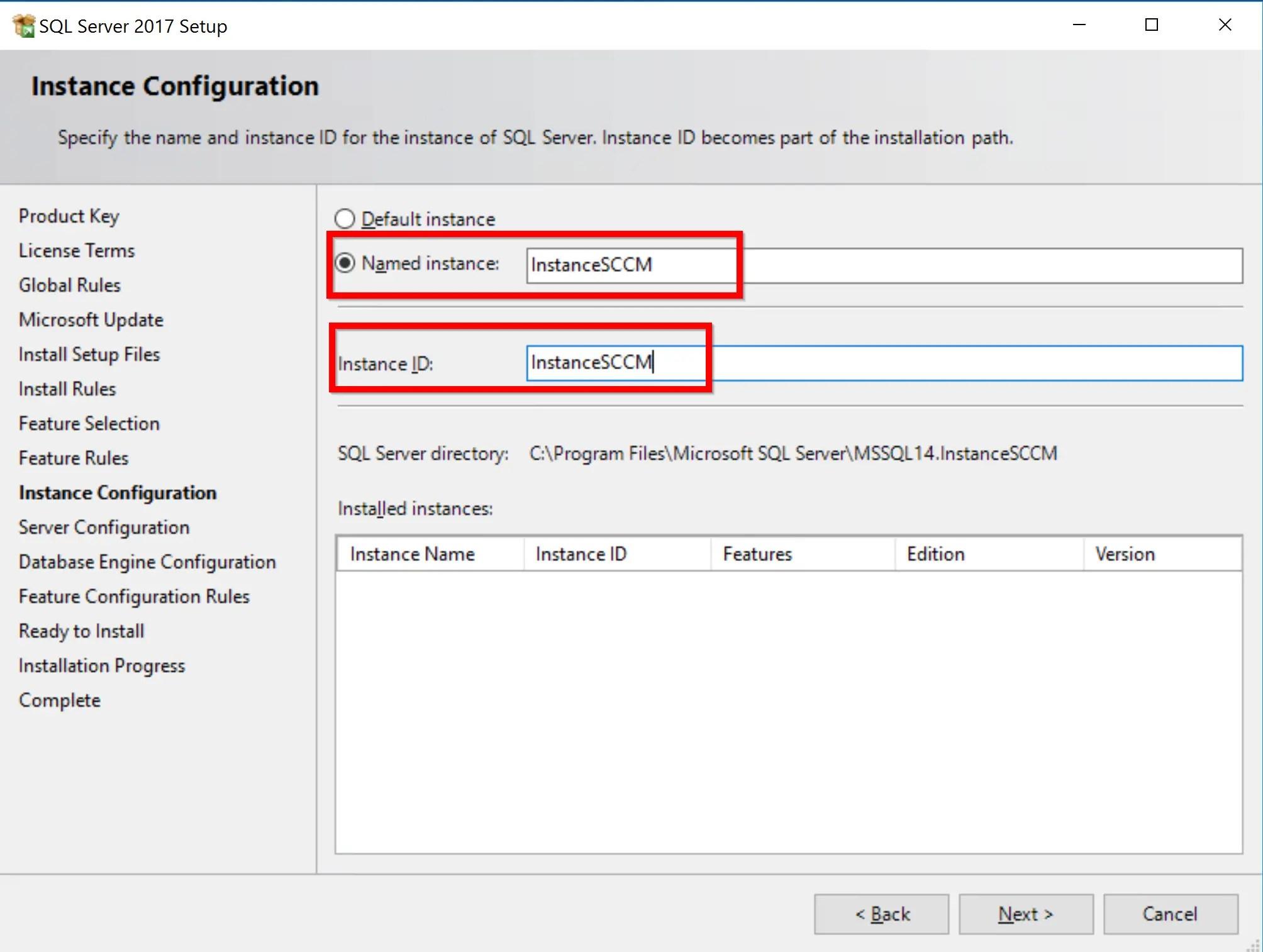 SQL Server 2017 Step by step for SCCM Installation 8