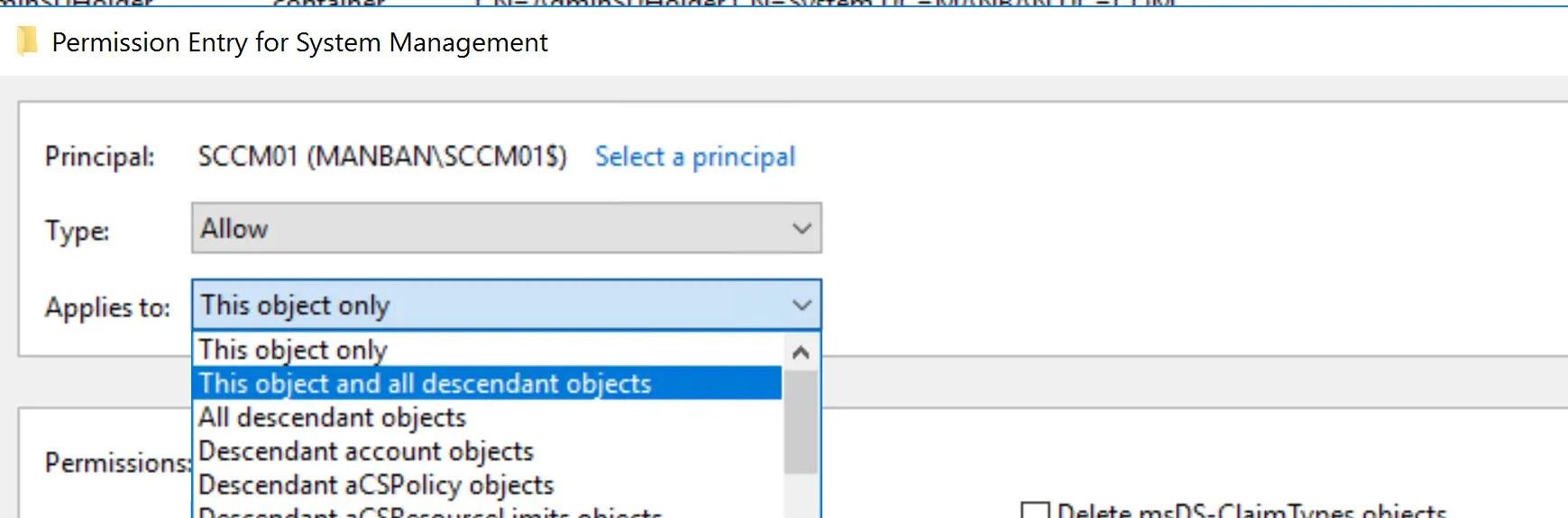 Preparing Active Directory for SCCM 9