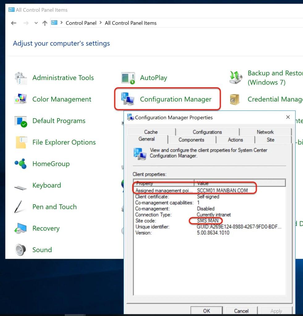 SCCM Automatic Client Push Installation
