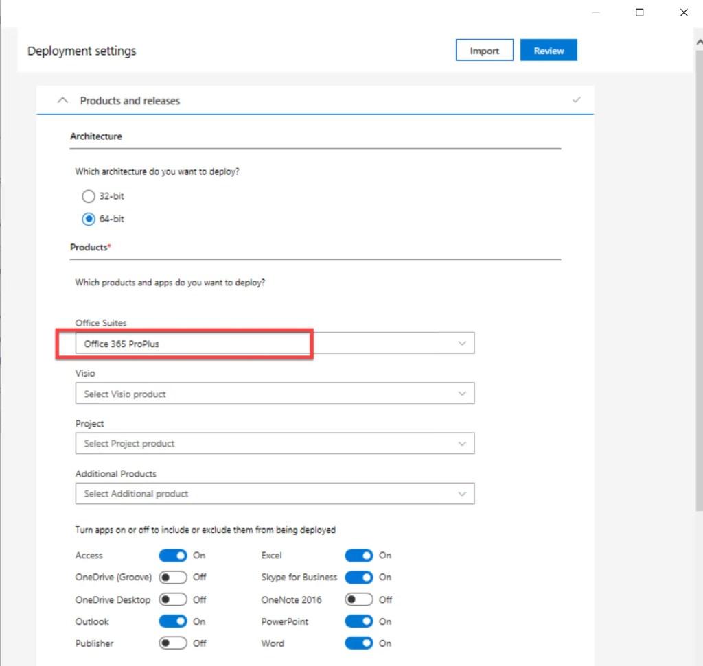 Deploy Office 365 through SCCM 4