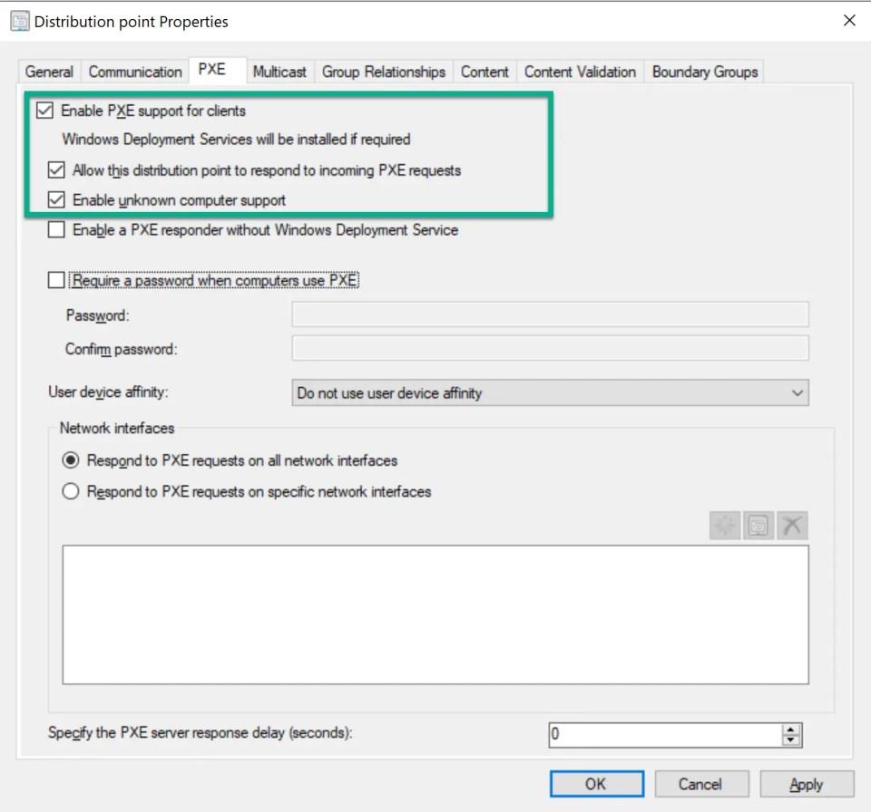 SCCM PXE Boot Configuration 4