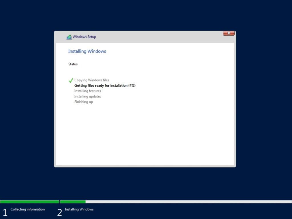 Step by step Windows Server 2019 installation 2