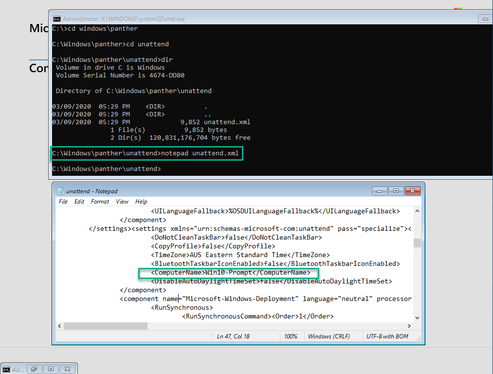 Prompt for Computer name during task sequence 5