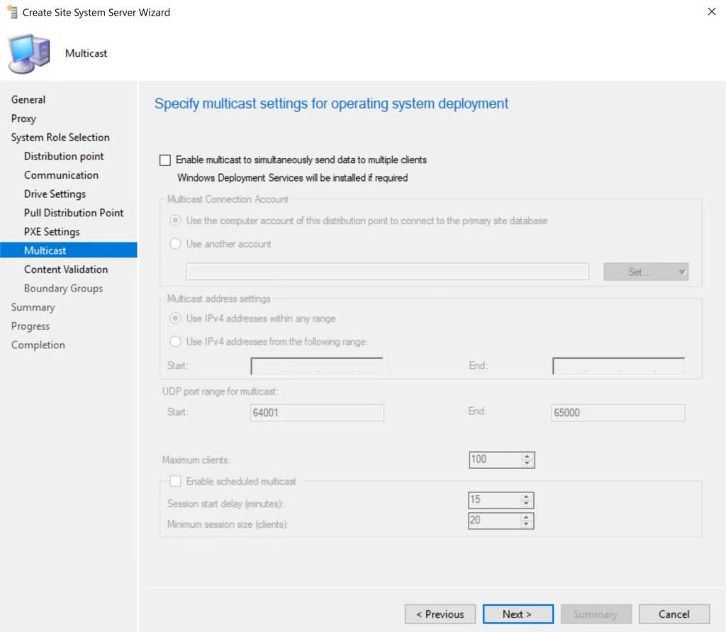 Install Configure SCCM Distribution Point 13