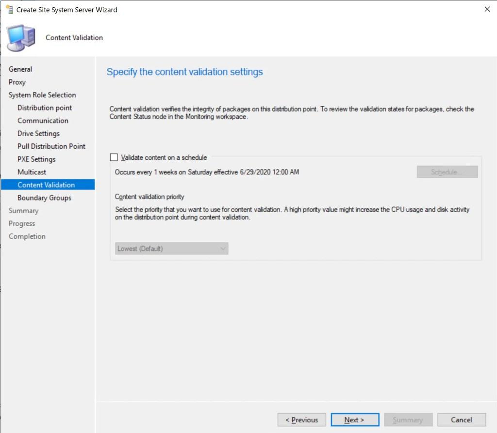 Install Configure SCCM Distribution Point 14