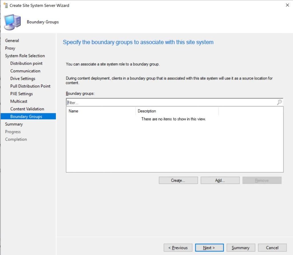 Install Configure SCCM Distribution Point 15