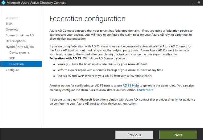 Configure Hybrid Azure AD join 9