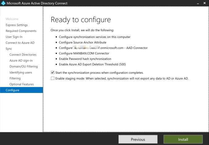 How to connect AD DS with Azure AD through AD Connector 7