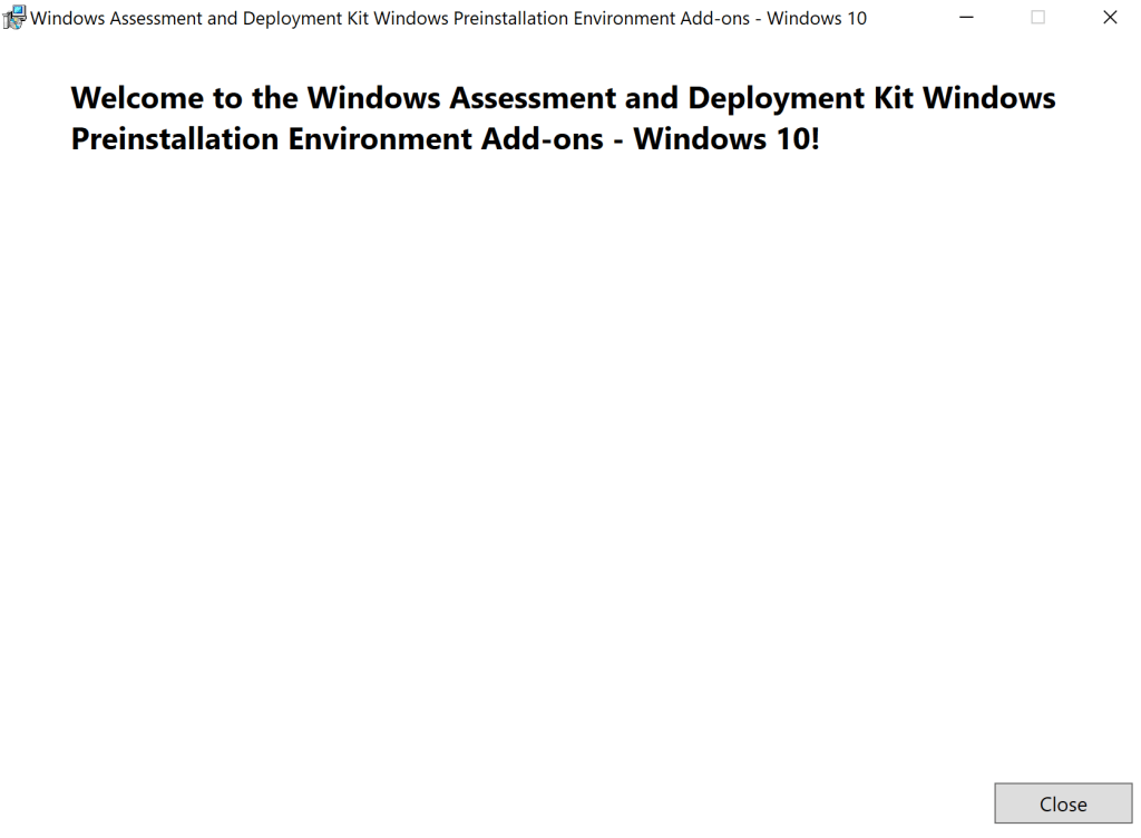 How to update Windows ADK 2004 on SCCM Server 16