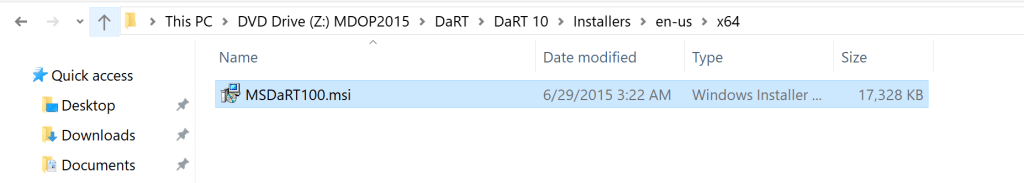 How to integrate MsDart with SCCM Boot Image 2
