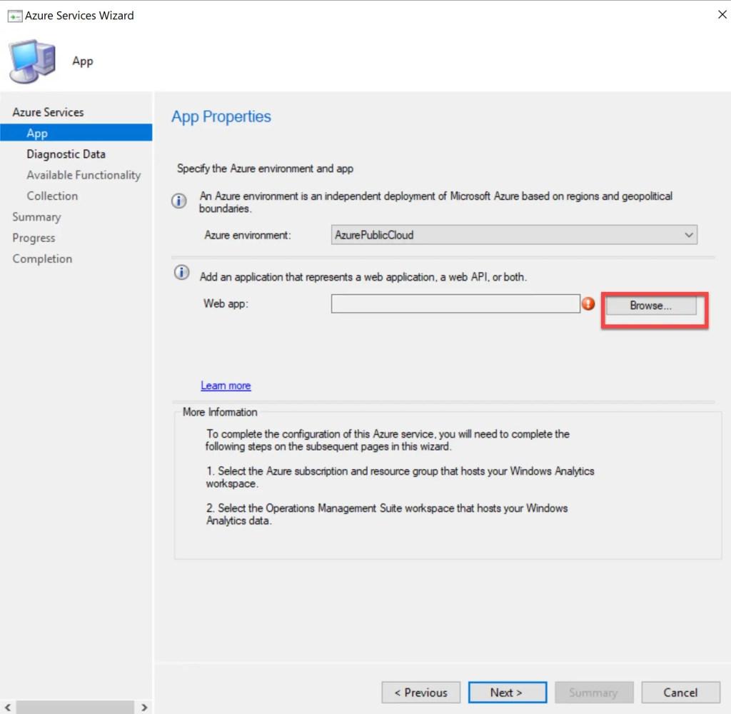 Set up Desktop Analytics to integrate with SCCM 14