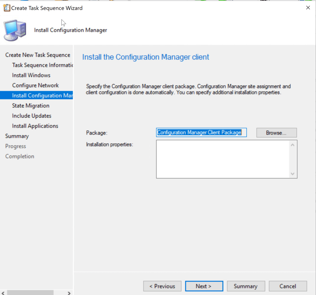 Deploy Windows 10 20H2 task sequence using SCCM 12