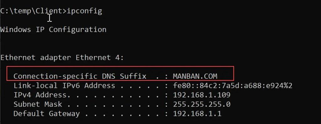 DNSSuffix