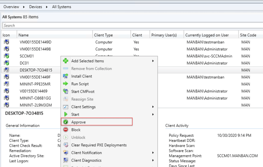 Install SCCM Client on Workgroup Computer 4
