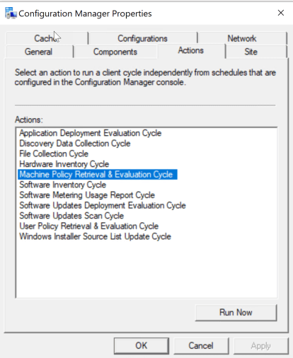 Install SCCM Client on Workgroup Computer 6
