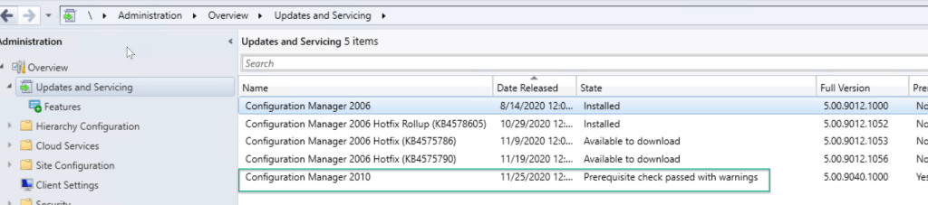 SCCM 2010 Step by Step Upgrade Guide 9