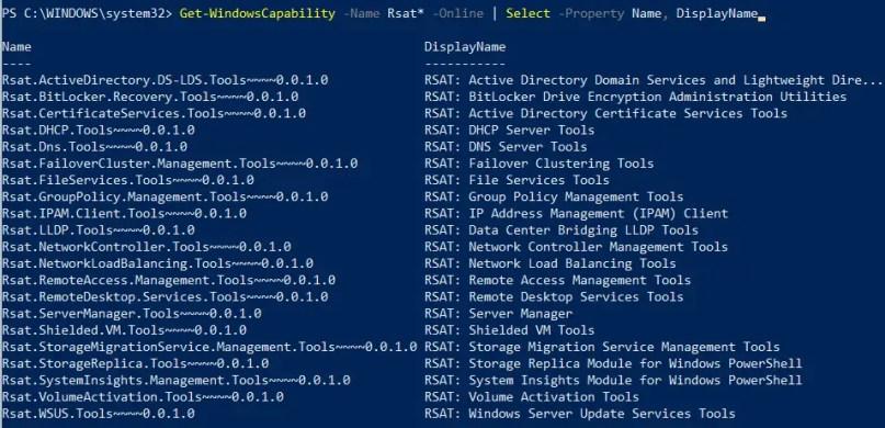 How to install RSAT tools on windows 10 – Multiple methods 1