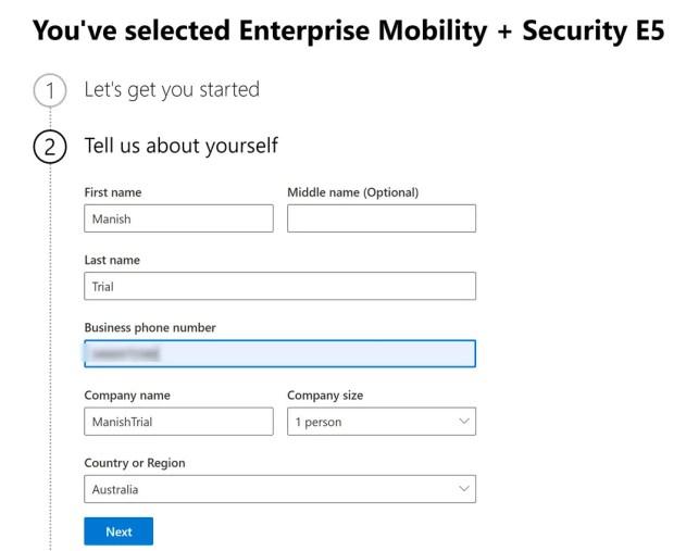 Create and setup Microsoft Intune Account- MEM 1